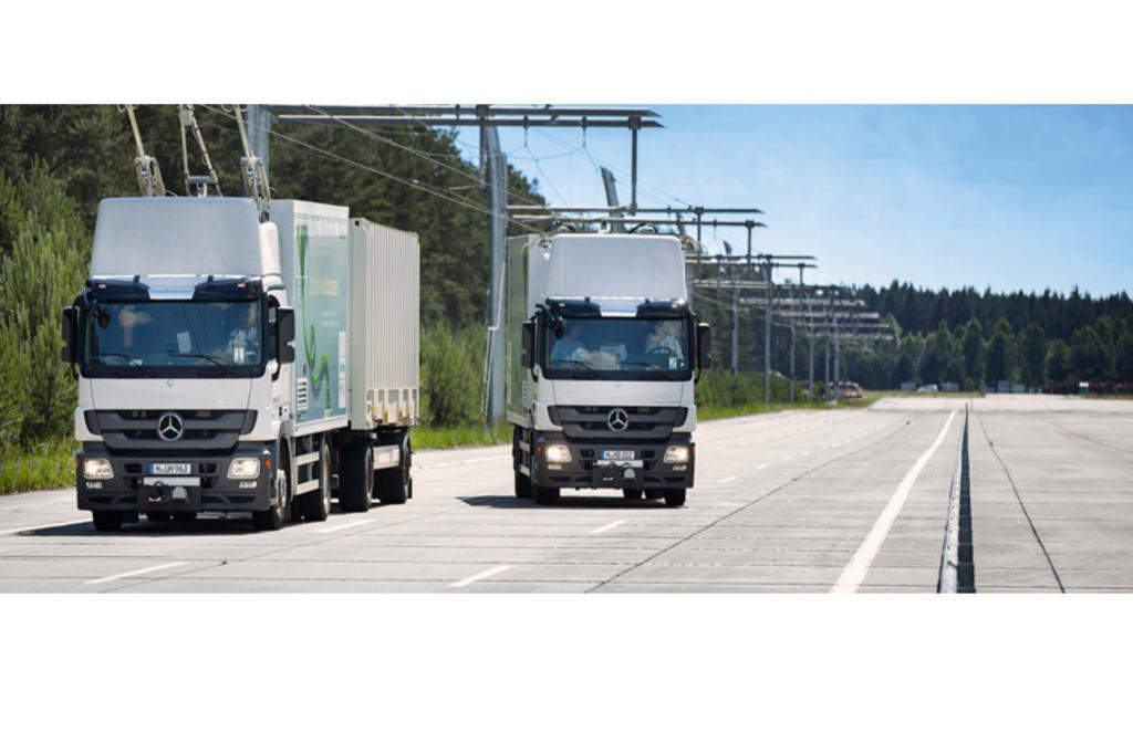 Im Gegensatz zu Pendants bei Zügen sollen die Stromabnehmer allerdings intelligenter arbeiten, so Siemens.