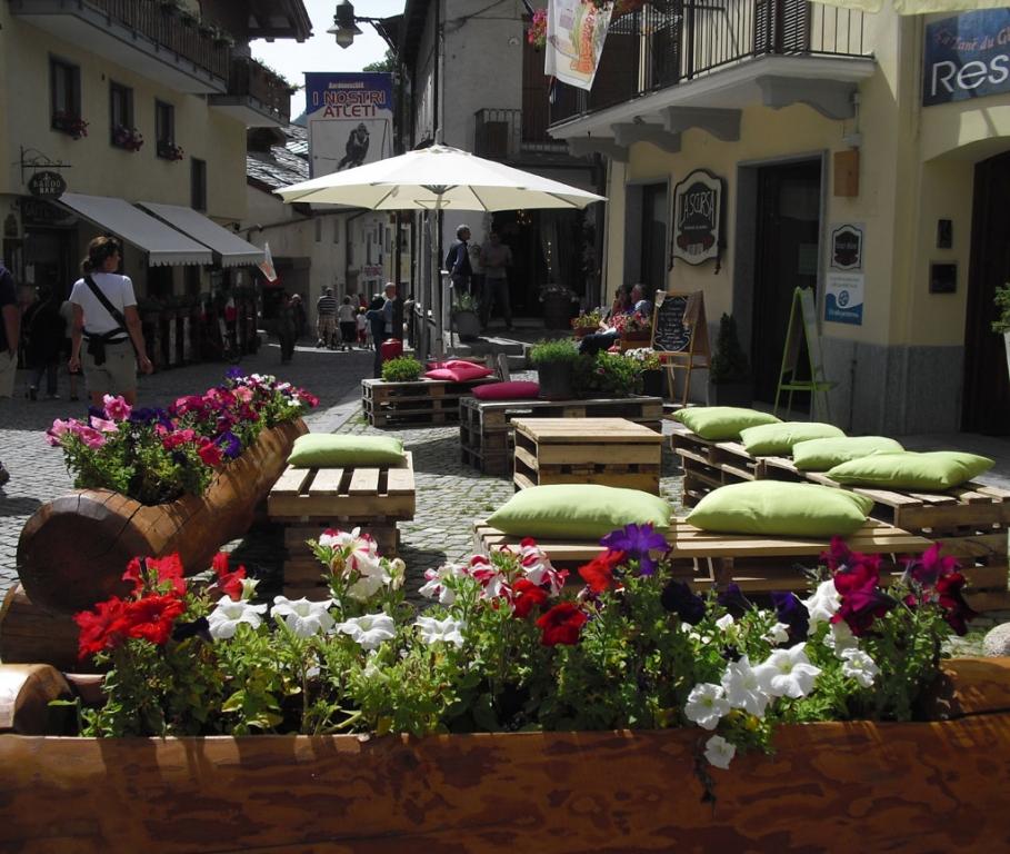 Im idyllischen Ortskern von Bardonecchia.