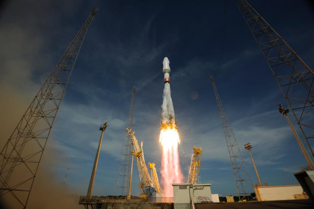 In Kourou starten heute weitere Galileo-Satelliten