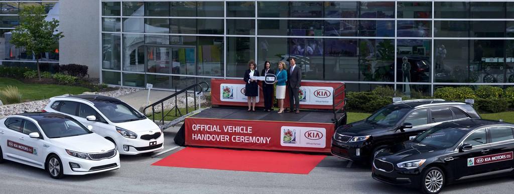 Kia übergibt Fahrzeugflotte für FIFA U-20-Frauen-Weltmeisterschaft