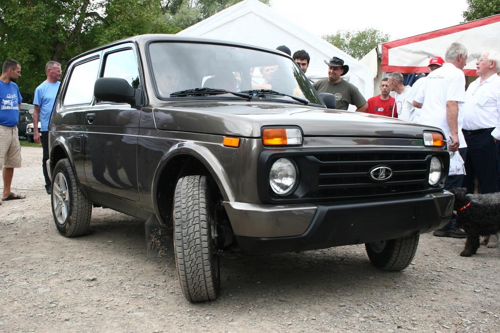 Lada 4x4 Urban: Für den Moskauer Boulevard