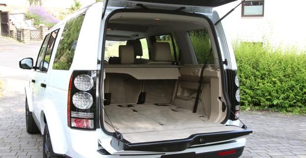 Auto im Alltag: Land Rover Discovery 3.0 TDV6