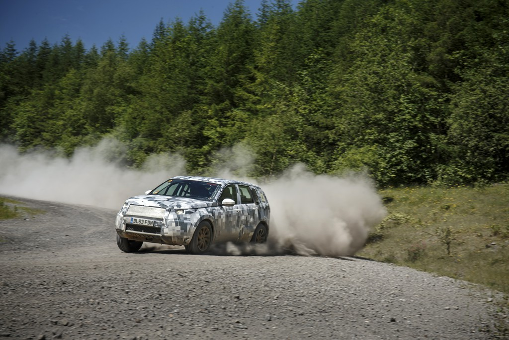 Land Rover Discovery Sport durchläuft über 11.700 Vorserientests