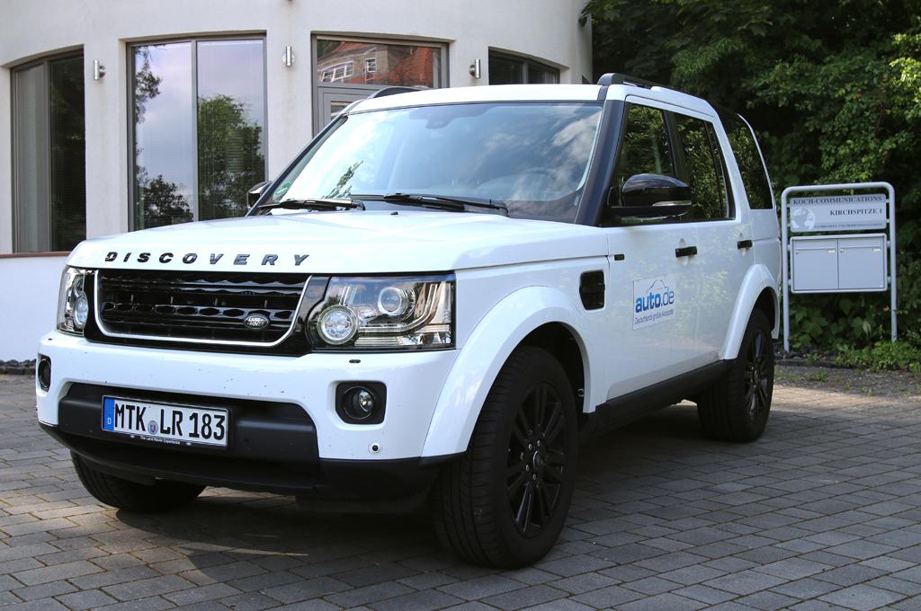 Land Rover Discovery, hier als Diesel mit 155/211 kW/PS.