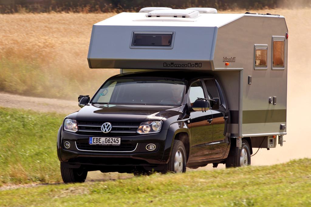 Living in a Box: Camping mit dem VW Amarok