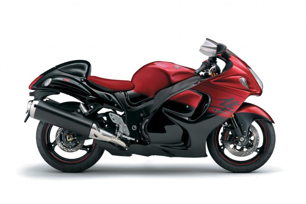 Mehr als die meisten Motorräder ist die Suzuki Hayabusa ein Motor-Rad