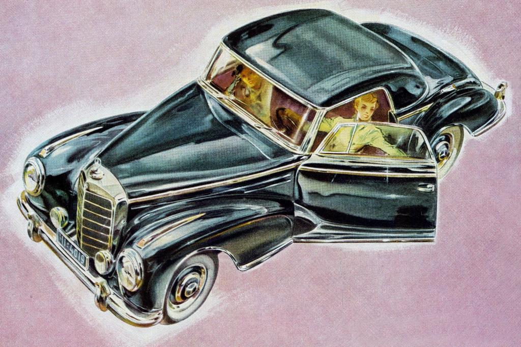 Mercedes-Benz 300 Sc Baureihe W188 Jahr 1955