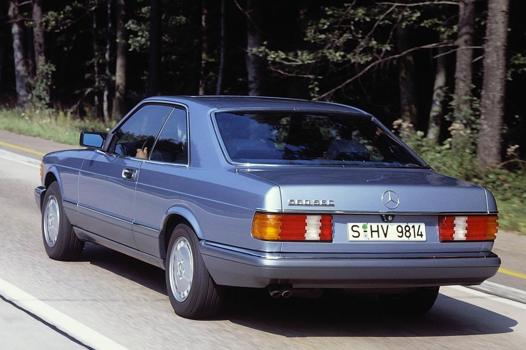 Mercedes-Benz 560SEC Baureihe C126 Jahr 1985