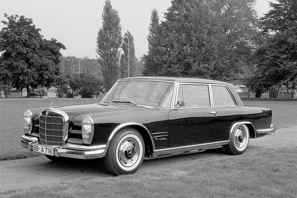 Mercedes-Benz 600 Coupe Baureihe W100 Jahr 1965