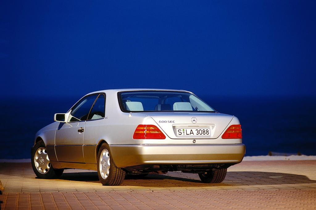 Mercedes-Benz 600SEC Baureihe C140 Jahr 1993