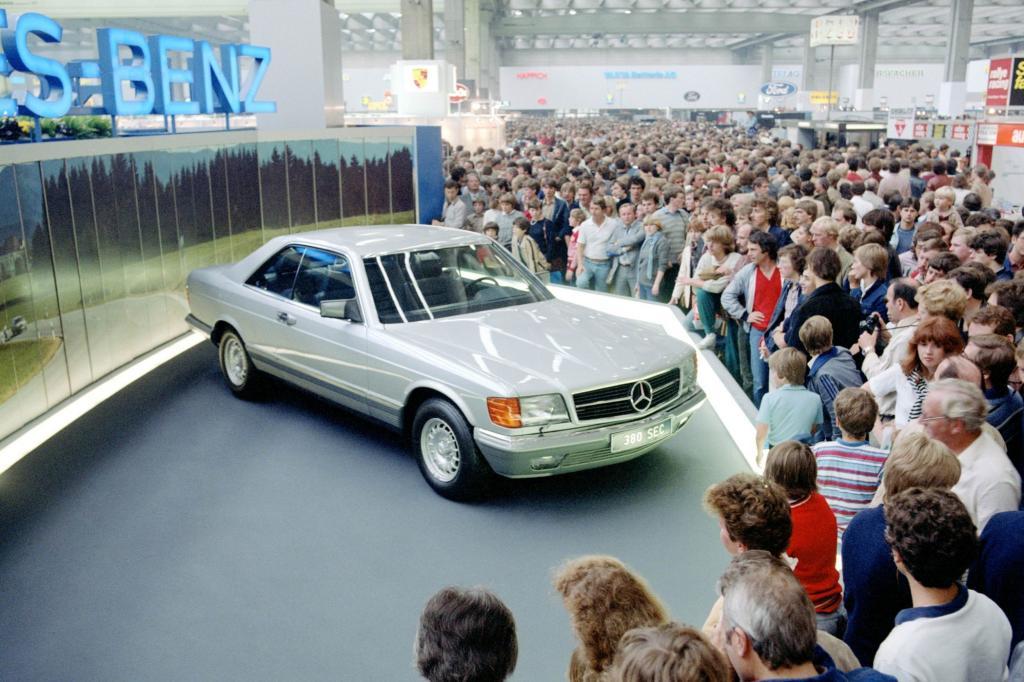 Mercedes-Benz SEC Baureihe C126 Weltpremiere IAA 1981
