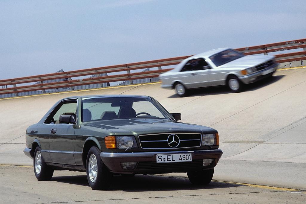 Mercedes-Benz SEC Baureihe C126 ab 1981