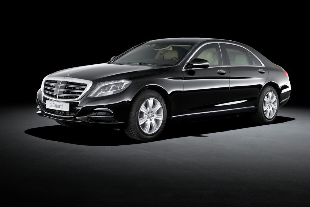 Mercedes S 600 Guard ? sicher ist sicher