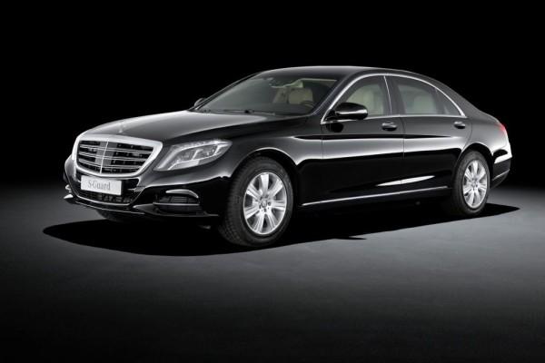 Mercedes S 600 Guard - sicher ist sicher