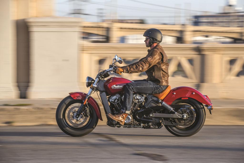 """Mit der Neuauflage des in den 1920er und 1930er Jahren legendären Modells """"Scout"""" macht Indian einen großen Schritt in Richtung dauerhafter Etablierung der 2011 wieder gegründeten Marke."""