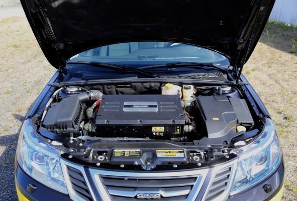 NEVS zeigt Saab 9-3 EV