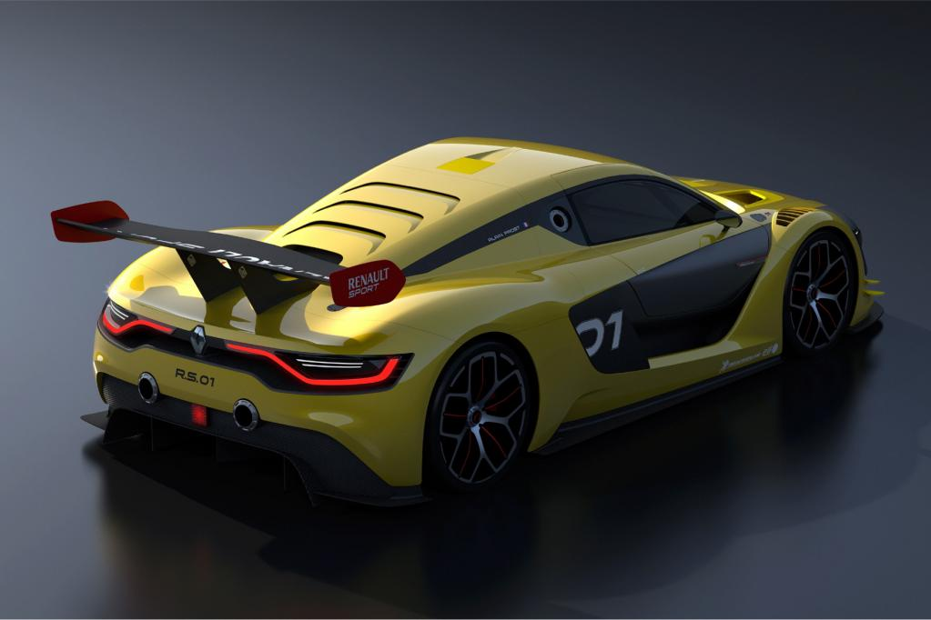 Neuer Renault-Rennwagen ist startklar
