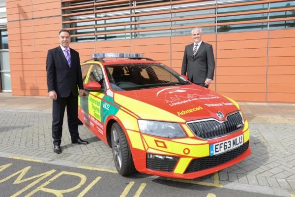 Neuer Skoda für Londoner Rettungsflieger