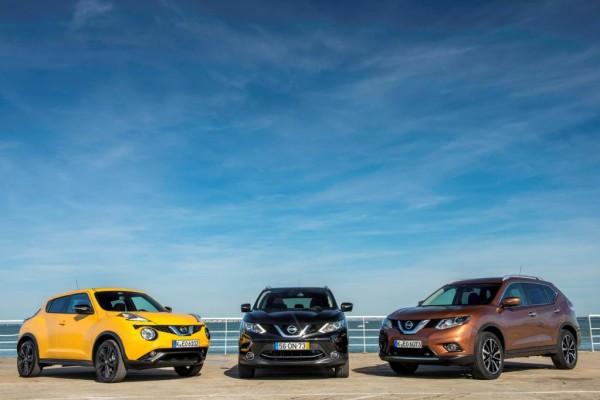 Nissans Crossover-Modelle: kreuz und quer an die Spitze
