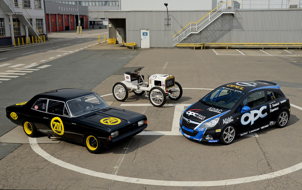 Oldtimer Grand-Prix: Opel Fahrzeuge aus 111 Jahren Motorsport