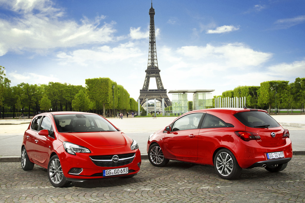 Opel Corsa ab sofort bestellbar
