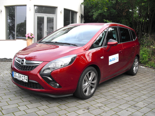 Auto im Alltag: Opel Zafira Tourer Innovation 1.6 Turbo