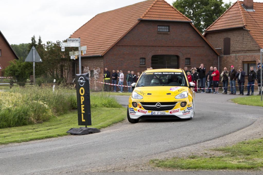 Opel und ADAC suchen den neuen Rallye-Star