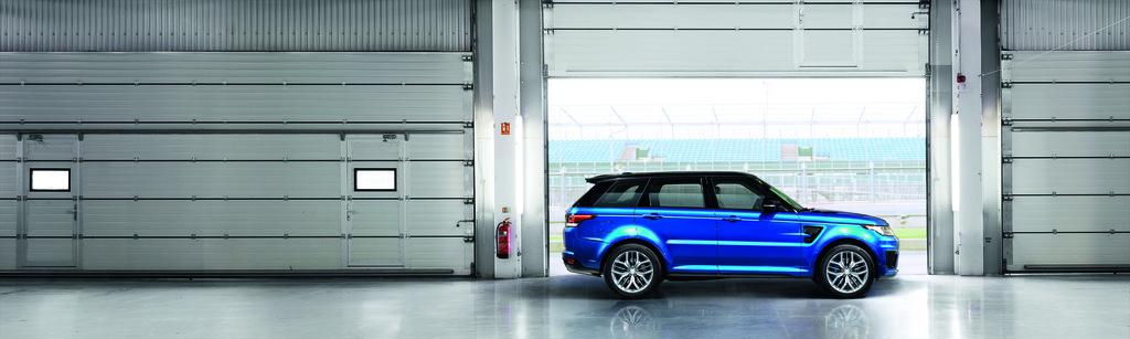 Range Rover Sport SVR feiert Weltpremiere in Pebble Beach