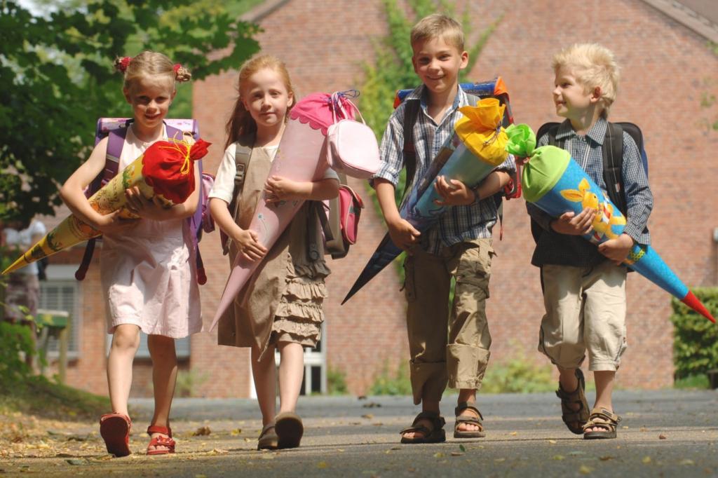 Ratgeber Sicherer Schulweg - Übung macht den kleinen Meister