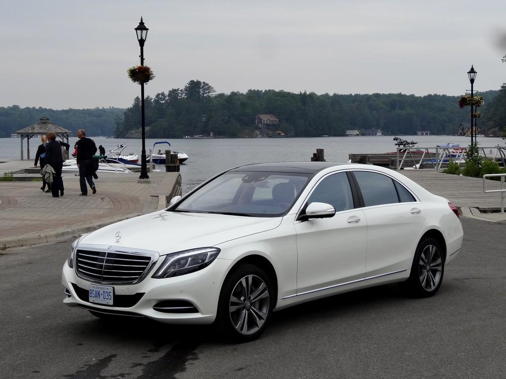 Test Mercedes-Benz S-Klasse mit langem Radstand: Villa mobile