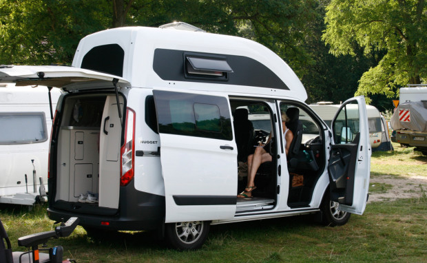 Verreisen mit dem Ford Nugget: Goldstück für Camping-Anfänger