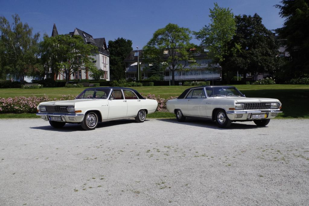 Vor 50 Jahren kam die Opel KAD-A-Reihe auf den Markt, also jene Oberklasse-Familie mit den Mitgliedern Admiral, Kapitän und Diplomat.