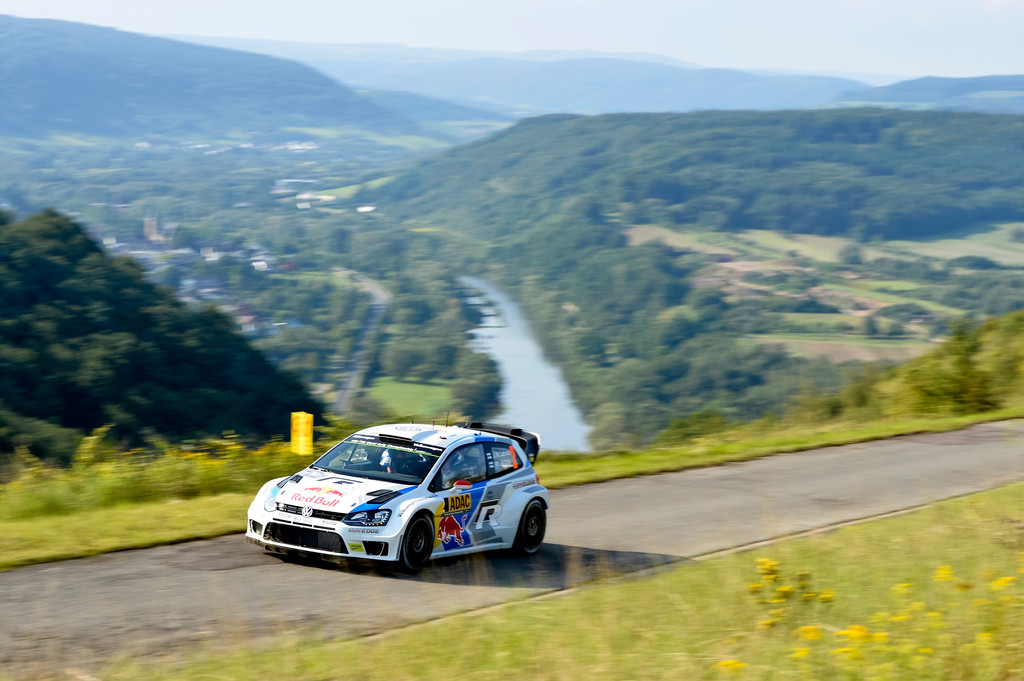 WRC-Lauf in Deutschland: Volle Attacke