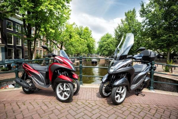 Yamaha Tricity 125: Wendiges Dreirad für die Leichtkraft-Klasse