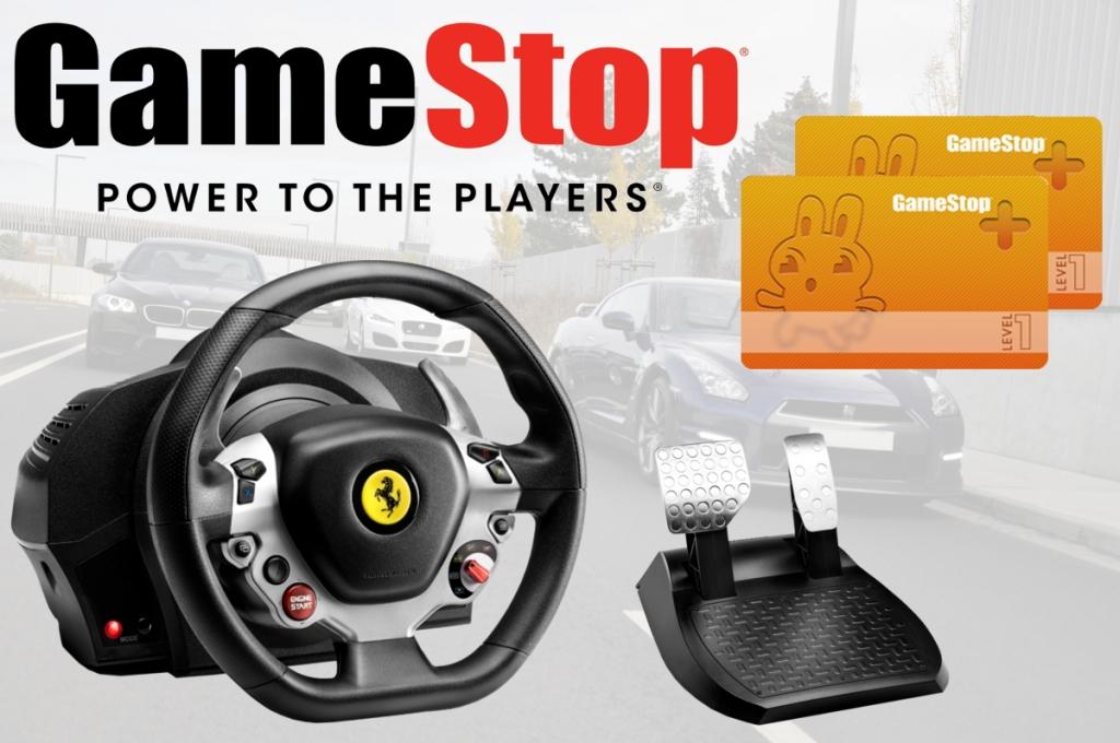 auto.de-Gewinnspiel: TX Racing Wheel Ferrari 458 Italia Edition und GameStop+ Karten