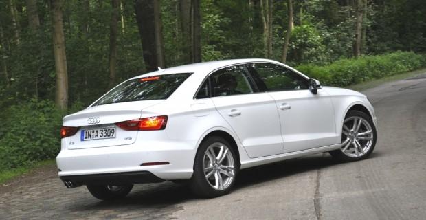 Heck des Audi A3 Stufenheck