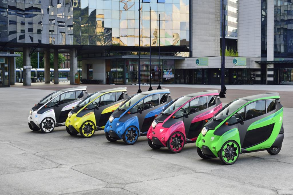 Toyota i-Road - Der elektrische Alien