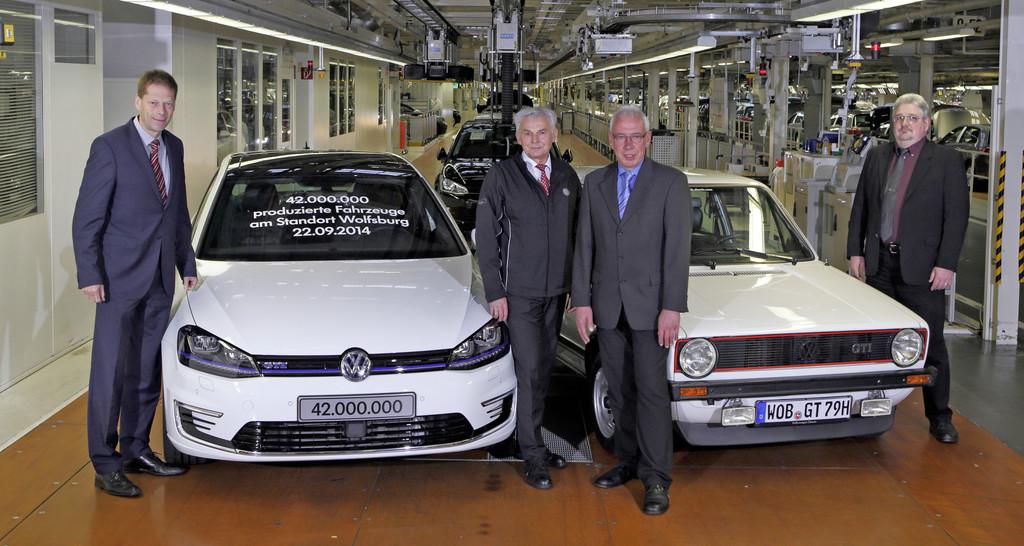 42 Millionen Autos aus Wolfsburg