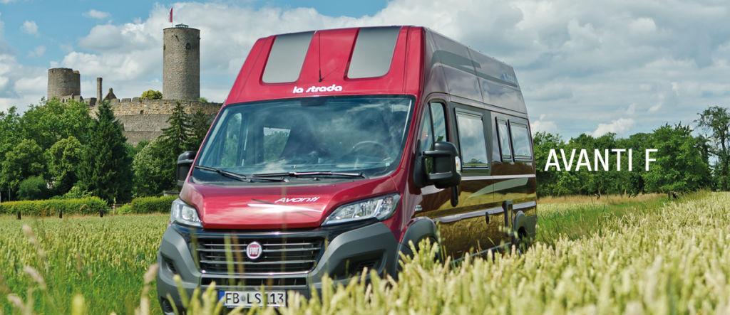 Caravan-Salon 2014: F wie flexibel – La Strada Avanti F