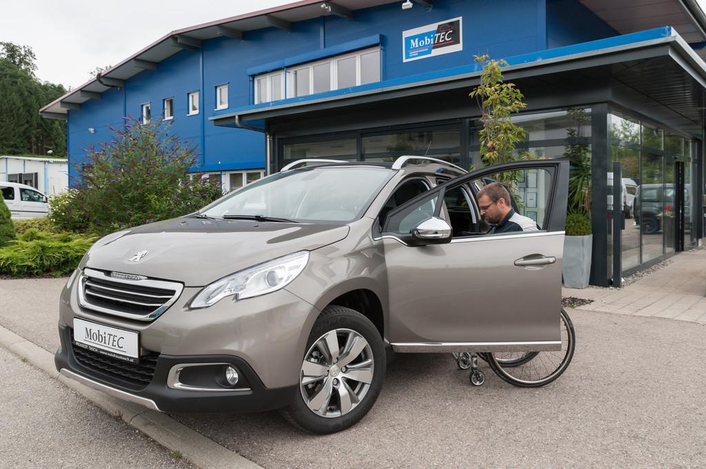 Behindertengerechte Ausstattung für Peugeot 2008