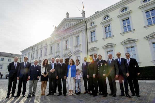Bundespräsident dankt VW-Mitarbeitern für ehrenamtliches Engagement