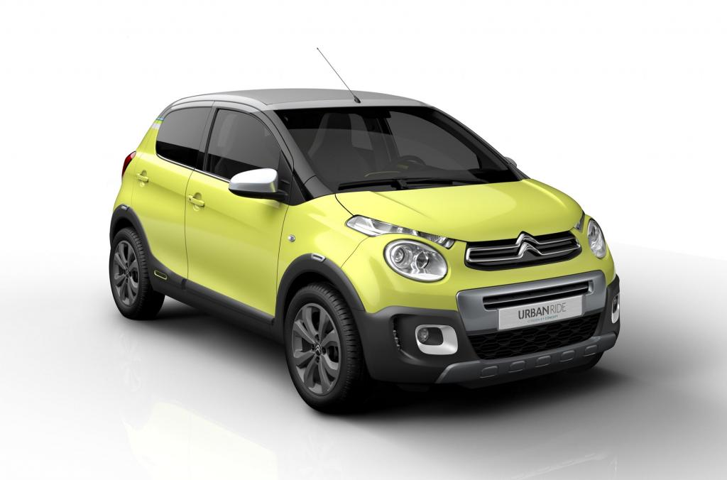 Citroen C1 Urban Ride - Matsch-Version zum Abstimmen - Magazin