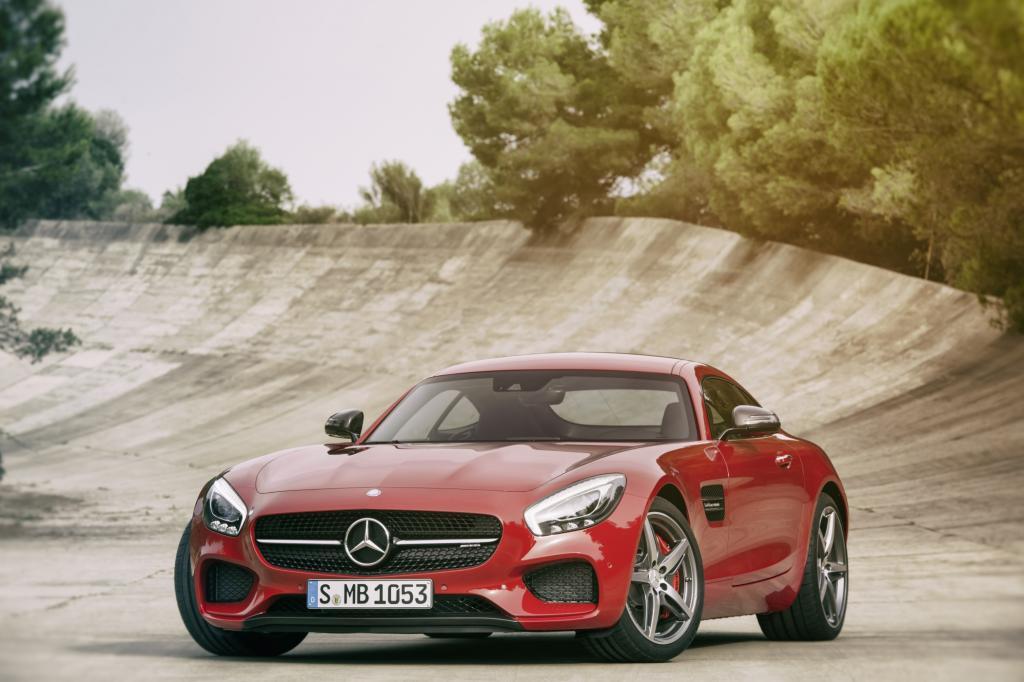 Mercedes AMG GT - Mit Turbo aber ohne Flügel