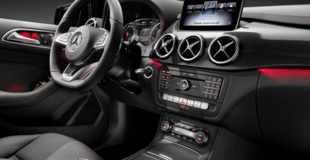 Mercedes B-Klasse - Im Detail verfeinert