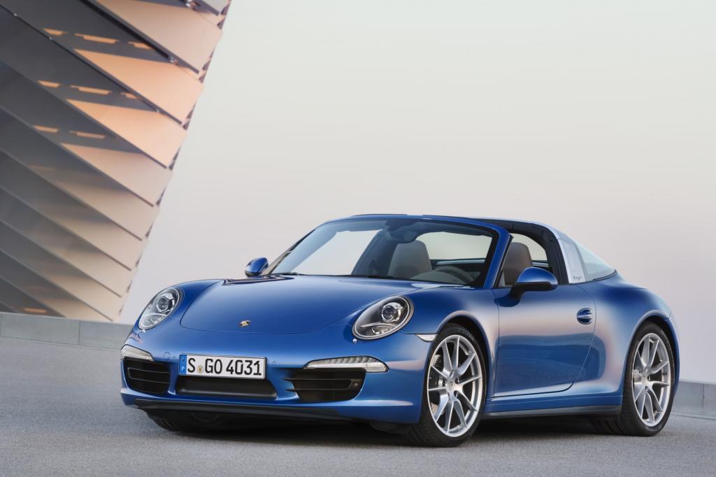 Test: Porsche Targa 4 S - Solider Charmeur