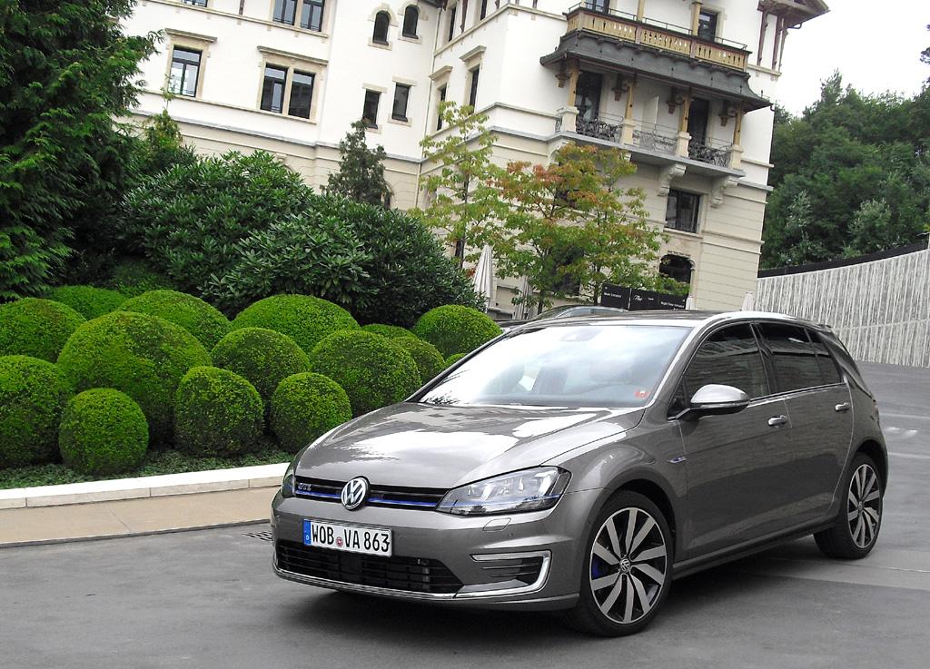 Der Golf GTE ist das erste Plug-in-Hybridmodell von VW.