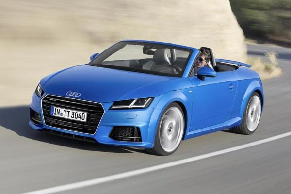 Der Grundpreis für die offene Stilikone Audi TT Roadster mit dem 169 kW/230 PS starken Zweiliter-Benziner beträgt 37.900 Euro, das sind knapp 3.000 Euro mehr als das vergleichbare Coupé kostet