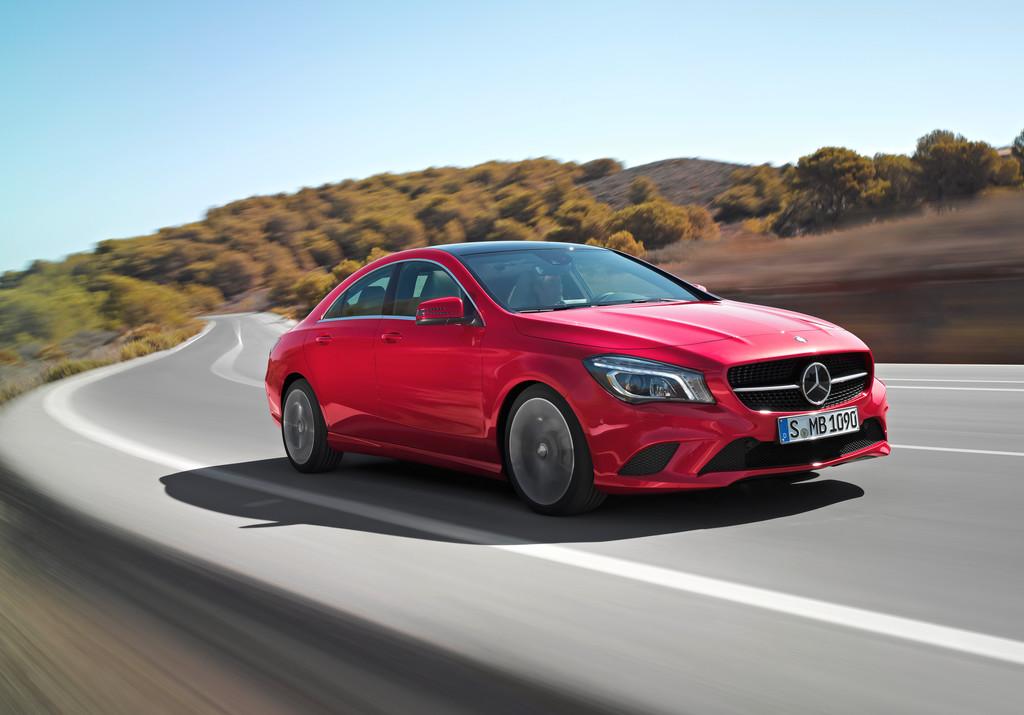 Der Mercedes-Benz CLA wird aufpoliert