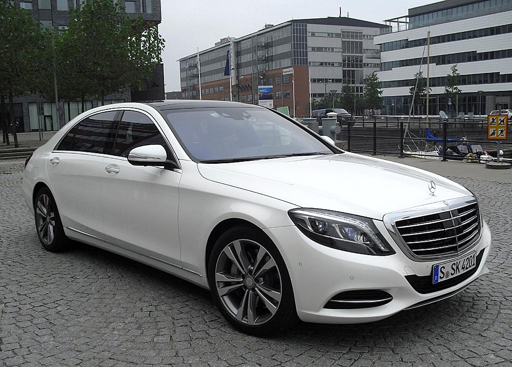 Der Mercedes S500 Plug-in-Hybrid gilt als Vorbote einer ganzen Plug-in-Hybrid-Flotte.