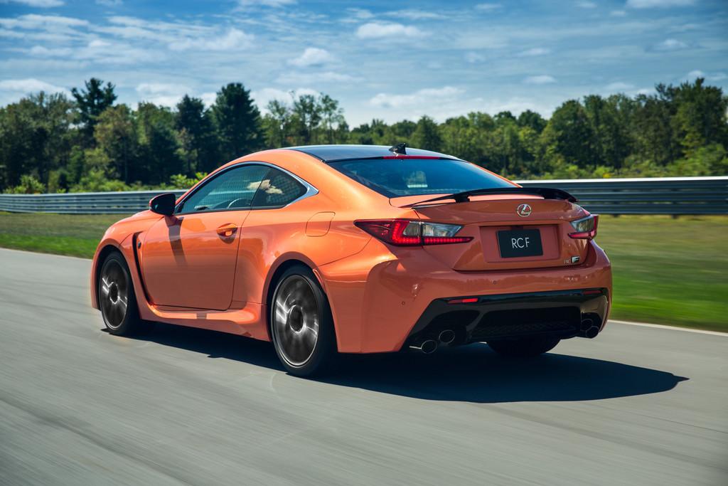 Fahrbericht Lexus RC F: Ein klassischer Bolide